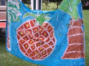 Festival banner made at the Joff