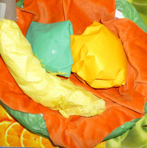 3D Fruit collage St Martins