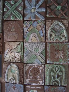 Islamic tile from year 5 Hawks Farm Primary School
