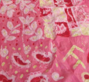 Franny from Start Art made this batik design