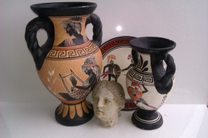For Greek Ceramic sessions we bring examples along