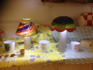 Lamp shades from project4