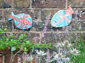 Union Jack Jubilee Fish Trail
