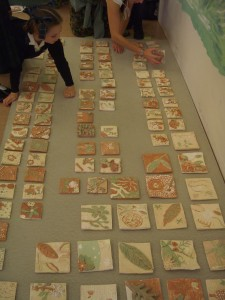 Tiles at Nutley C of E School