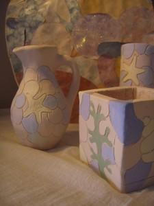 Pots by Carol Havard