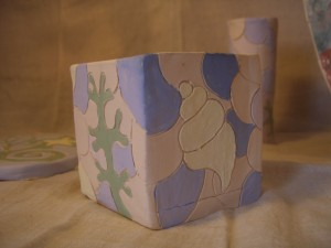 Cube Pot by Carol Havard