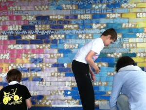 Saltdean Mural takes shape