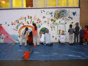 20 pupils attend ASC Mural Painting