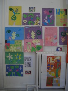 Collage based on Matisse