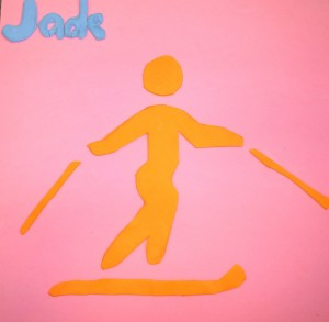 Olympic Ski collage from Little Horsted C of E Primary