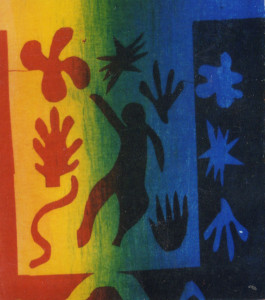 T-shirt printing Matisse inspired