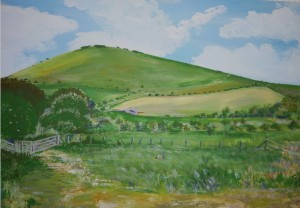 Southease Painting 2012